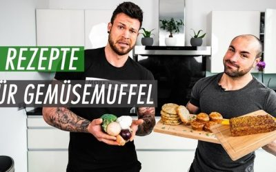 3 Protein Gemüserezepte für Gemüsemuffel | Gemüsepuffer, Gemüse-Muffins & Gemüsebrot