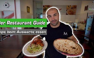 Tipps beim Auswärts essen – So triffst du die richtige Wahl