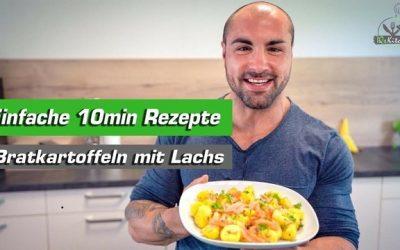 10min Rezept | Bratkartoffeln mit Lachs