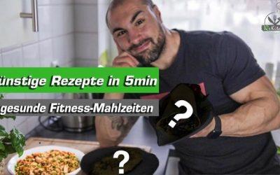 Günstige und gesunde Fitness Mahlzeiten in 5min – Asiatischer Bratreis