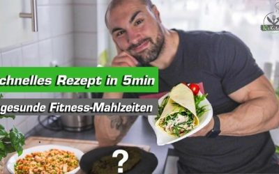 Schnelle und gesunde Fitness Mahlzeiten in 5min – Thunfisch Wrap