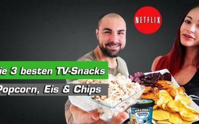 NETFLIX & SNACK – 3 kalorienarme und gesunde TV-Snacks