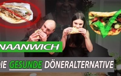 Naanwich – Die gesunde Döner-Alternative | vegetarisch