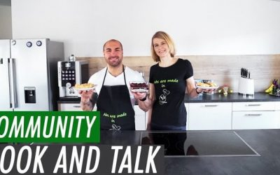 "Cook & Talk – ""Abs are made in the Kitchen"""