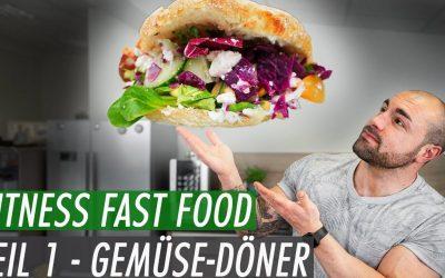 Fitness Fast Food – Gemüse-Döner selbst gemacht | Besser als Mustafas Gemüse-Kebap?