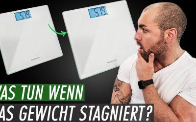 Was tun wenn das Gewicht in der Diät stagniert? Kein Gewichtsverlust trotz Kaloriendefizit?!