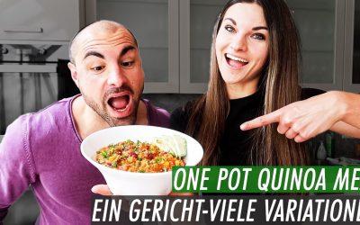 One Pot Mexican Quinoa Pfanne | Ein Gericht – viele Variationen