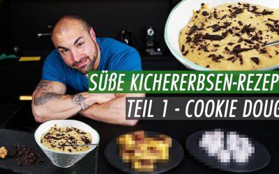2min Cookie Dough unter 300 Kcal | Kichererbsen Rezept