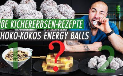 Bounty Energy Balls | Schoko Kokos Pralinen mit nur 60 Kcal