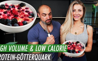 Protein Götterquark – High Volume Low Calorie Rezepte