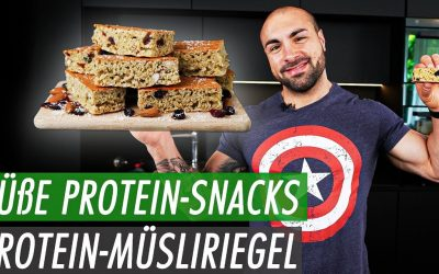 Protein Müsliriegel – Schneller und einfacher Proteinriegel