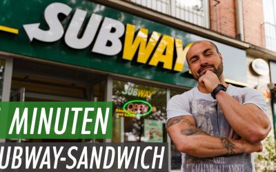 Subway Sandwich in 5min Challenge #Rekordzeit