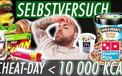 SELBSTVERSUCH – Das passiert mit deinem Körper nach 10.000 Kalorien
