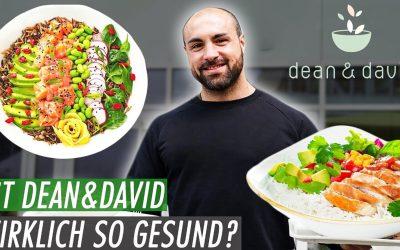 Wie GESUND ist DEAN & DAVID wirklich? Der Fitness Fast Food Check 😳
