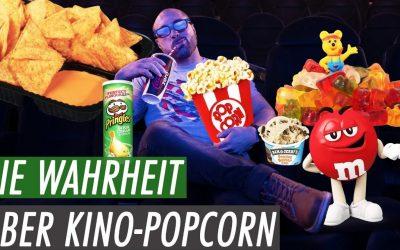 Kino-Snacks im Fitnesscheck – So viele Kalorien haben Popcorn und Nachos WIRKLICH!