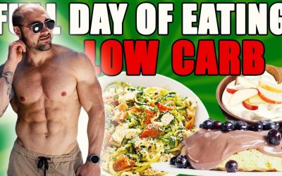 Low Carb Full Day of eating 1850 Kcal OHNE SUPPS | Alle Mahlzeiten & häufigsten Low Carb Fehler😱