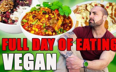 Full Day Of Eating Vegan & High Protein mit 2000 Kcal | 4 einfache & schnelle Protein Mahlzeiten