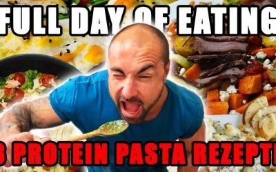 Full Day of Protein Pasta Eating | Protein Nudel Rezepte & Kohlenhydratmythen aufgedeckt